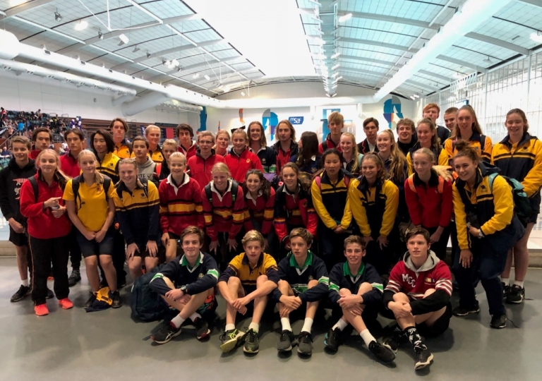 BAS Allschools Swim Team 2018